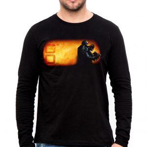 Изображение Мужской лонгслив Counter Strike GO Спецназ