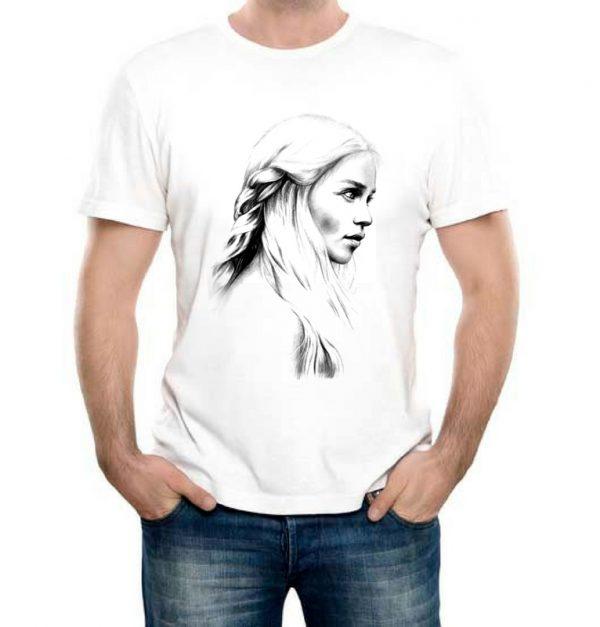 Изображение Мужская футболка Арт Дейенерис - Игра Престолов