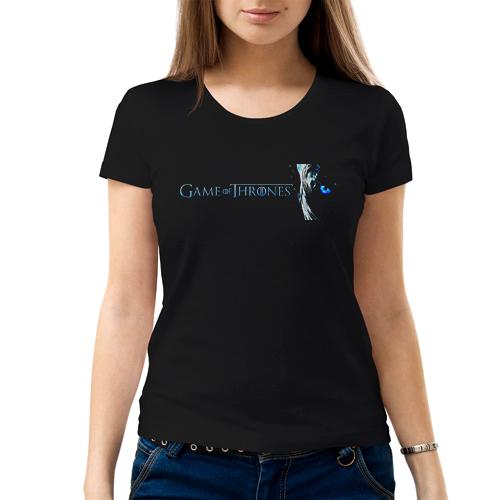 Изображение Женская футболка Games of Thrones Иной Лого