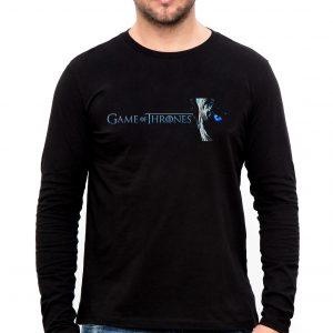 Изображение Мужской лонгслив Games of Thrones Иной Лого