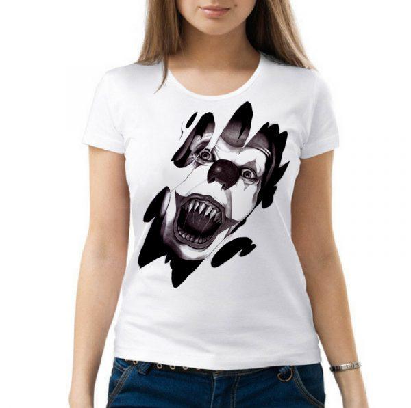 Изображение Женская футболка Клоун Оно Стивена Кинга