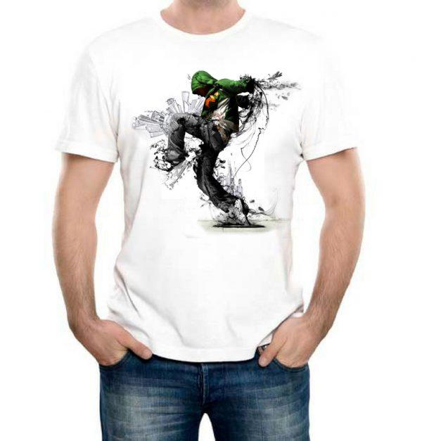 Изображение Мужская футболка Молодежный Урбан