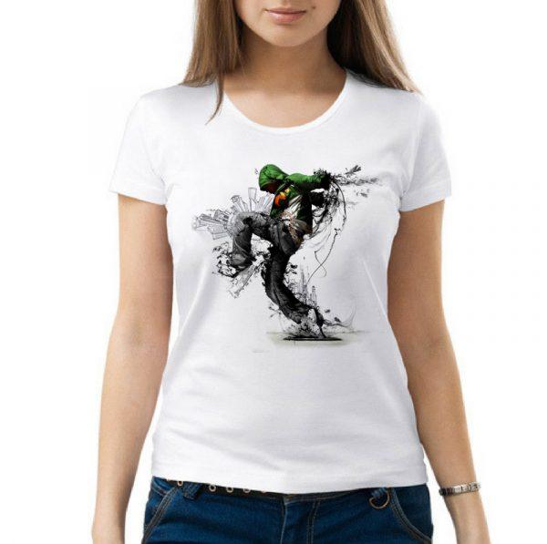 Изображение Женская футболка Молодежный Урбан