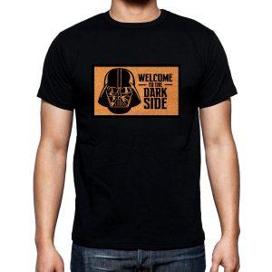 Изображение Мужская футболка черная Star Wars Welcome to the Dark Side