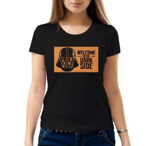 Изображение Женская футболка черная Star Wars Welcome to the Dark Side