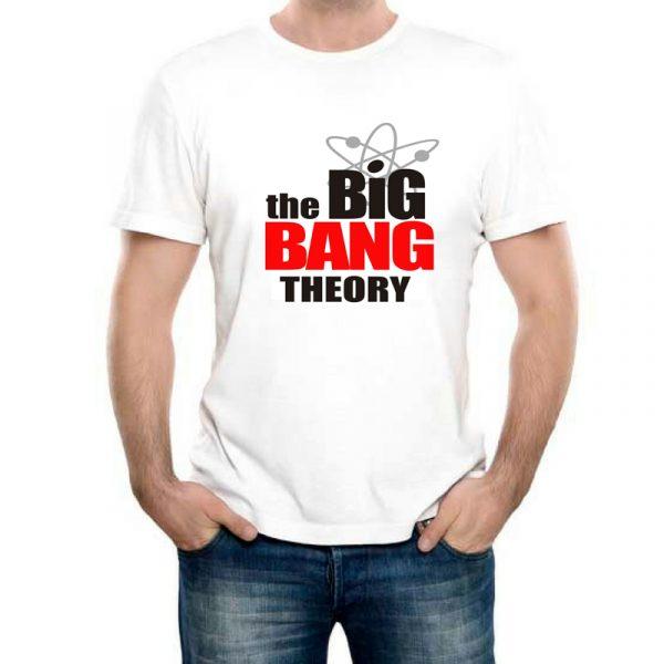 Изображение Мужская футболка Теория Большого Взрыва Лого