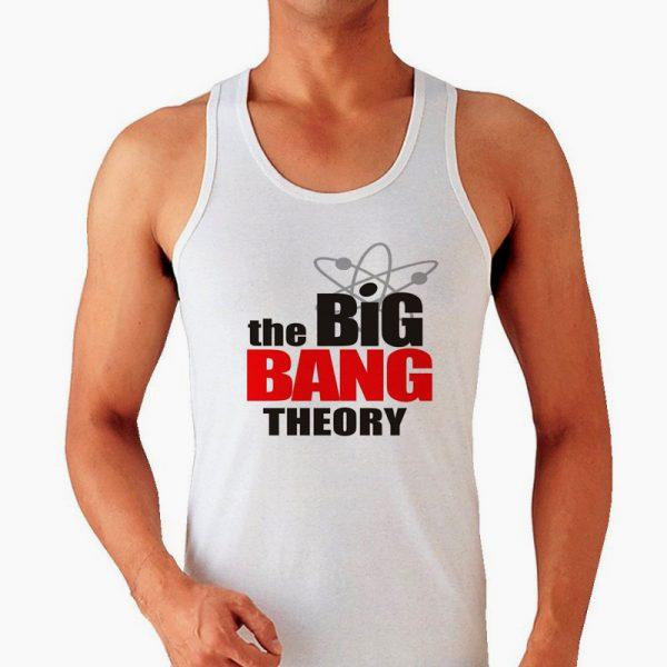 Изображение Мужская майка Теория Большого Взрыва Лого