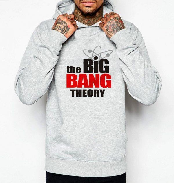 Изображение Мужская толстовка Теория Большого Взрыва Лого