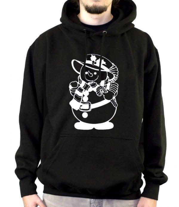 Изображение Мужская толстовка Мрачный Снеговик