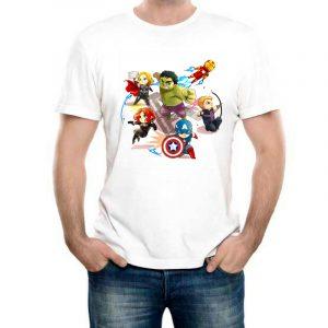Изображение Мужская футболка Мстители Мультяшки