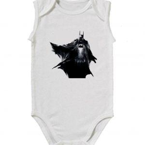 Изображение Детское боди белое Batman черный арт