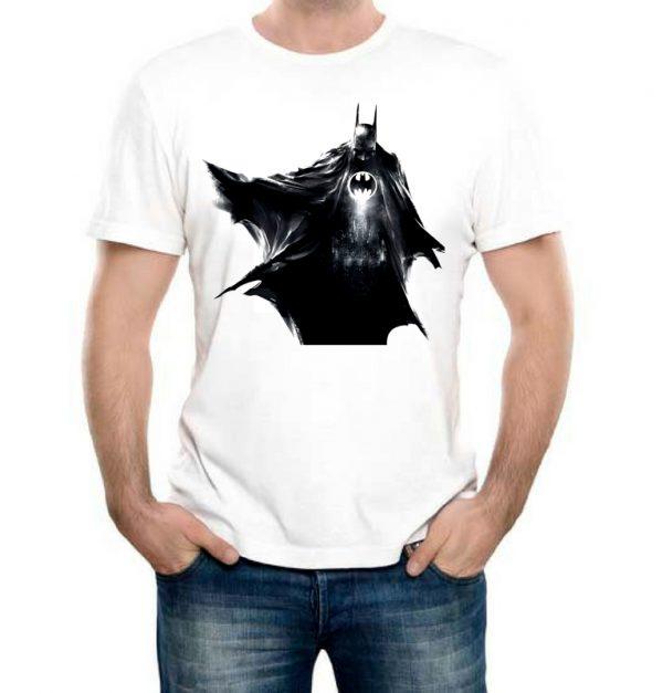 Изображение Мужская футболка Batman черный арт