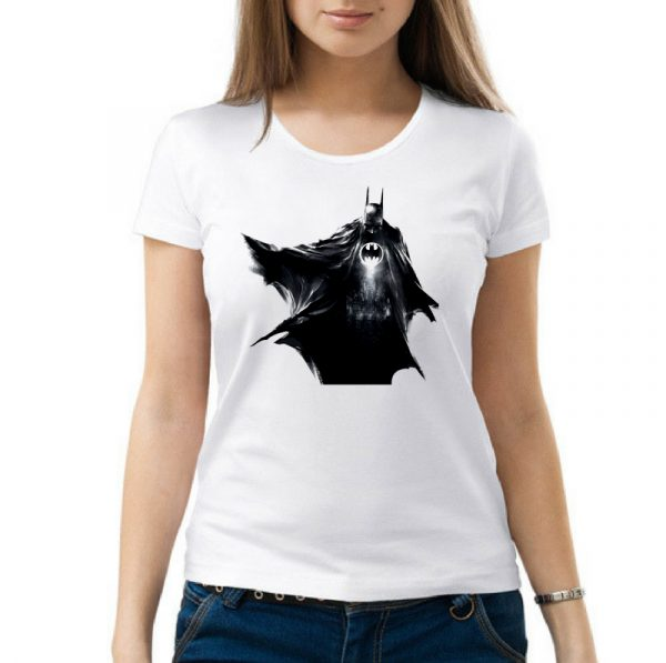 Изображение Женская футболка Batman черный арт