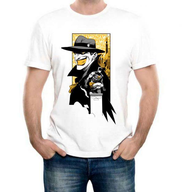 Изображение Мужская футболка Batman and Joker арт