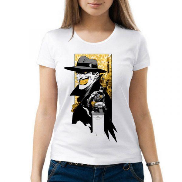 Изображение Женская футболка Batman and Joker арт