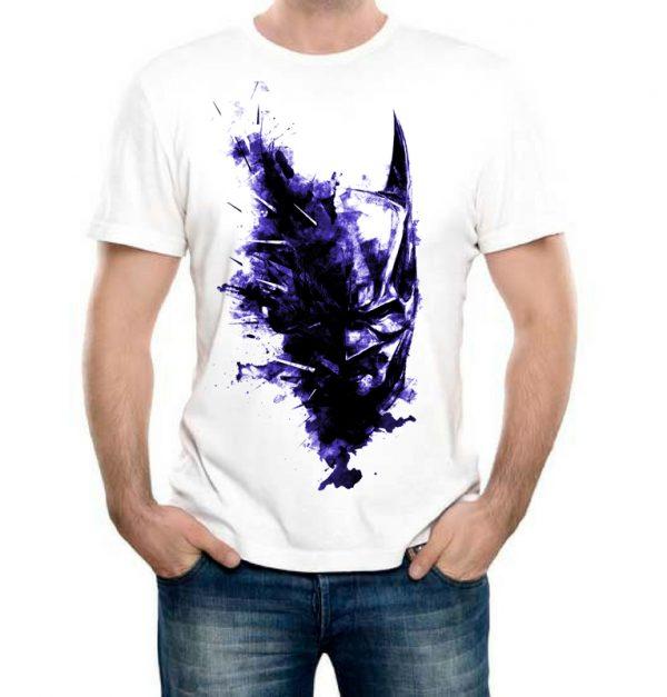 Изображение Мужская футболка Маска Бэтмена арт