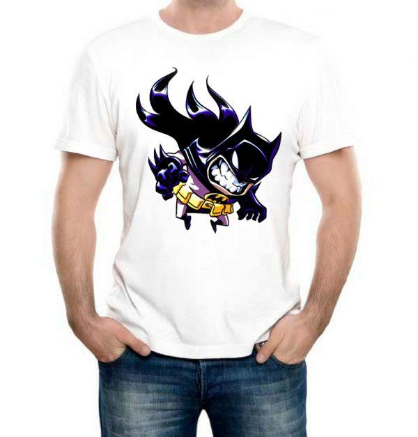 Изображение Мужская футболка Рисованный мультяшный Batman