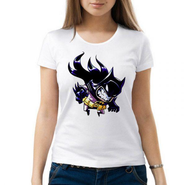 Изображение Женская футболка Рисованный мультяшный Batman