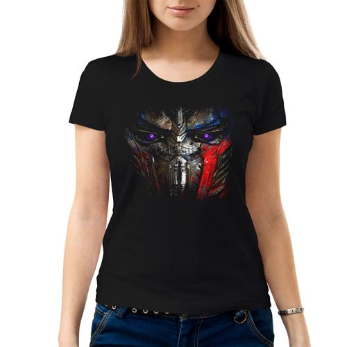 Изображение Женская футболка Трансформеры Оптимус Прайм