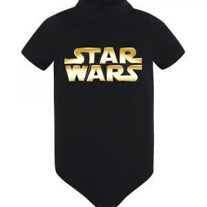 Изображение Star Wars Лого детское боди черное