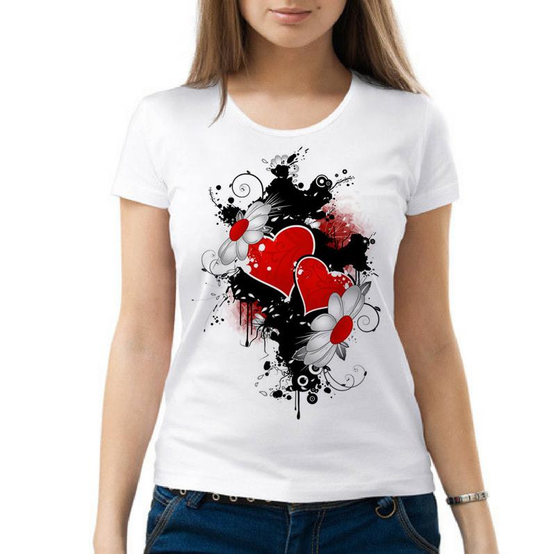 Прикольные футболки для девушек с картинками