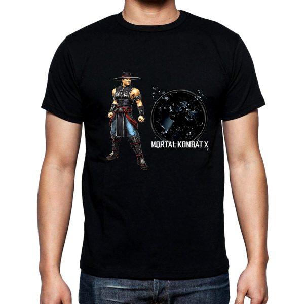 Изображение Футболка мужская черная Mortal Kombat Kung Lao