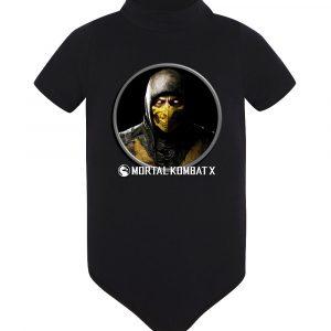 Изображение Детское боди черное Mortal Kombat Scorpion