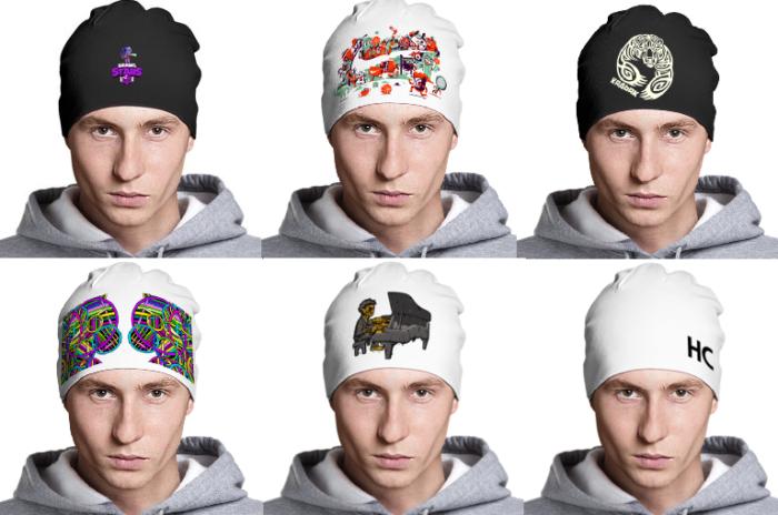 Нанесение символики на шапку в Москве